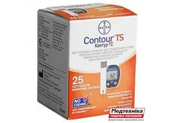 Тест-полоски Contour TS №25