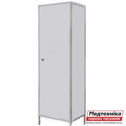 Шкаф для халатов цельнометаллический ШХМ, Zavet