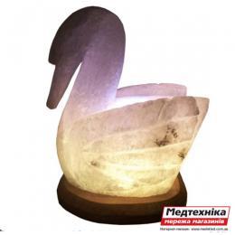 Лампа соляная Лебедь 3-4 кг цветная