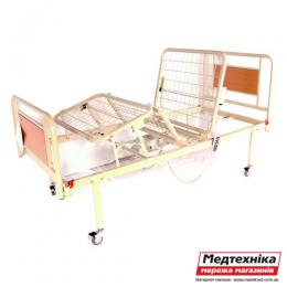 Кровать металлическая функциональная с электроприводом на колесах OSD-91V+OSD-90V