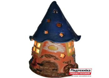 Лампа солевая Дом гнома 4 кг