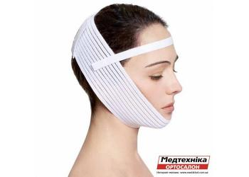 Оплата и доставка. Эластичный бандаж для лица Aurafix LC-1810 с фиксатором | Аурафикс
