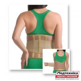 Корсет согревающий с 3-мя ребрами жесткости 3041 люкс Med textile