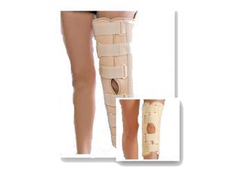 Тутор на колено Med textile МТ6112 с ребрами жесткости