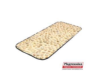 Массажный коврик «Натуральная галька» 90х40 см