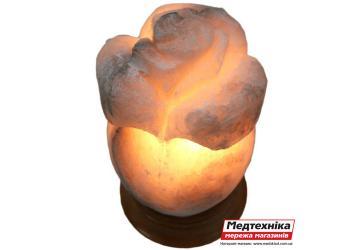 Лампа солевая Роза большая 4 кг