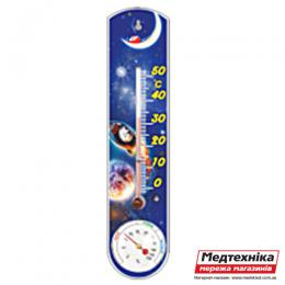 Комнатный термометр-гигрометр ТГК-1, Стеклоприбор