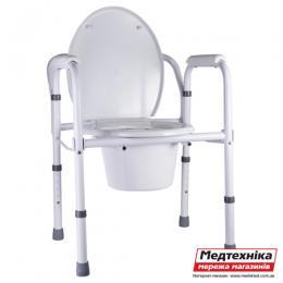 Стул-туалет Nova A8700AA складной с регулировкой высоты