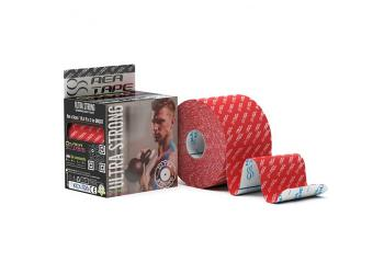 Кинезио тейп Rea Tape Ultra Strong 5м*5см, красный
