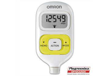 Электронный шагомер Omron HJ-203-EG Walking style III зеленый