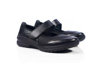 Обувь взрослая демисезонная анатомическая Softmode (Софтмод) Boston синяя/чёрная