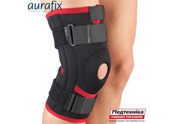 Ортопедический наколенник Aurafix 103 с открытой чашечкой и 4 ребрами жесткости | Аурафикс