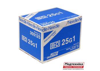 Игла для спинной анестезии BD NEEDLES 25G /05х90мм/