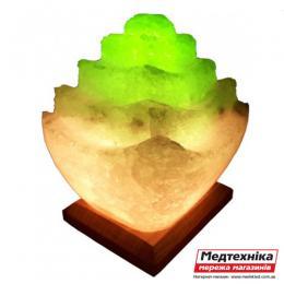 Лампа соляная Пагода 5-6 кг цветная