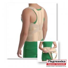 Корректор осанки с ребрами жесткости Med textile 2035