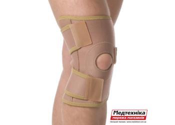 Бандаж на коленный сустав Med textile МТ 6058 разъемный люкс