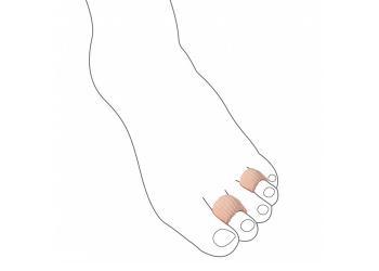 Муфта антимозольная URIEL для деформированных пальцев стопы 365 S-L