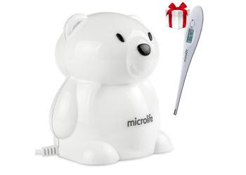 Компрессорный небулайзер Microlife Neb 400 + подарок термометр Microlife МТ-3001