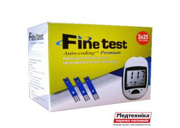 Тест полоска Finetest Auto-coding Premium д/опред.глюкозы № 50