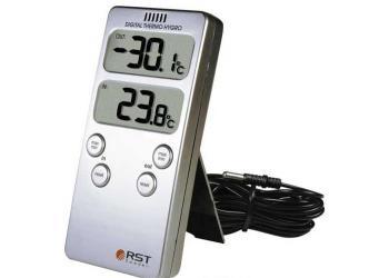 Термометр цифровой 42121 дом\улица max/min серебро НДС