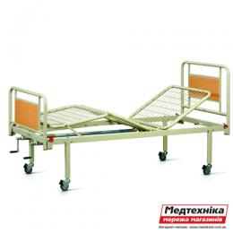 Кровать металлическая функциональная трехсекционная на колесах OSD-94V+OSD-90V