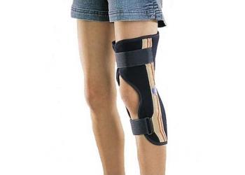 Тутор для фиксации колена под углом 0° Thuasne Ligaflex Immo Junior 2610 для подростков