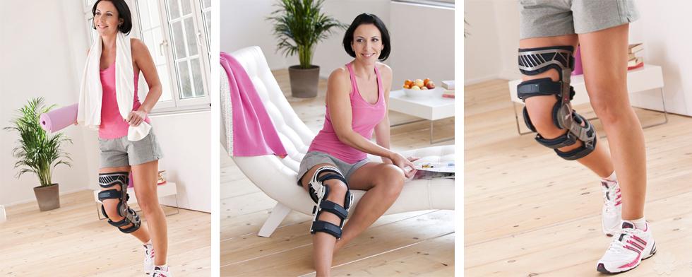 Ортезы для колена и жесткие фиксаторы коленного сустава