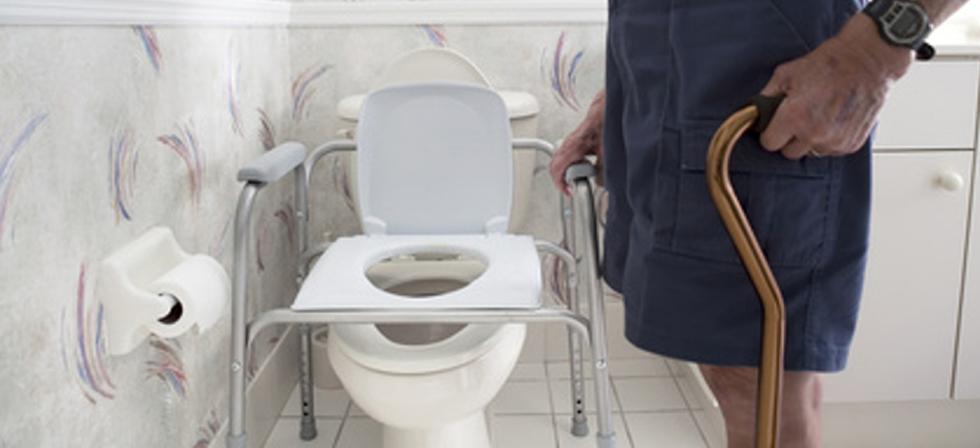 Туалетный стул для человека в возрасте