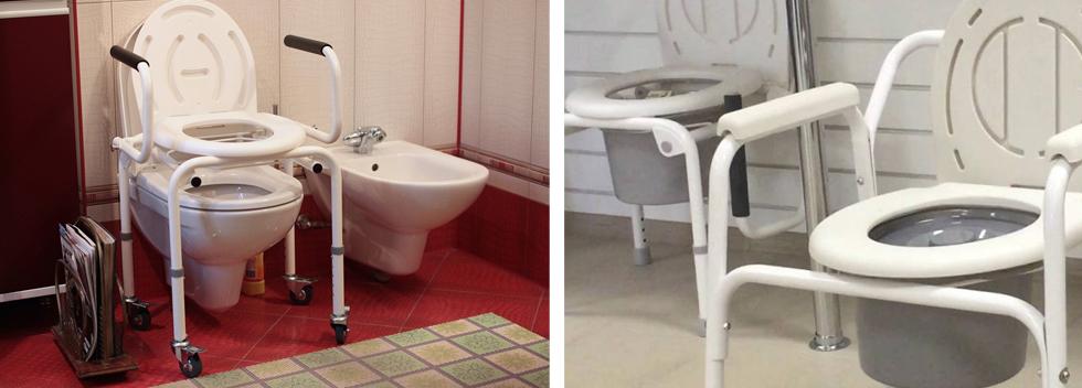 Кресло-туалет для пожилого человека