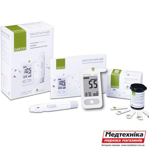Тест-полоски для глюкометра Bionime