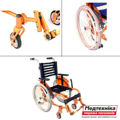 Инвалидная коляска для детей «ADJ KIDS», OSD medsklad.com.ua