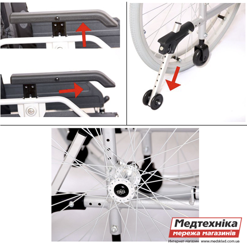Инвалидная коляска «LIGHT III» OSD medsklad.com.ua