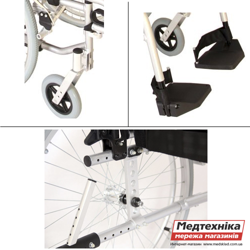 Инвалидная коляска «LIGHT MODERN» OSD medsklad.com.ua