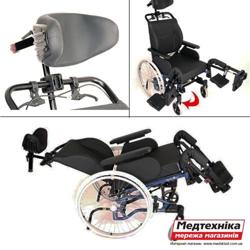 Инвалидная коляска «NETTI 4U» medsklad.com.ua