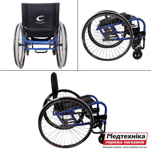 Инвалидная активная коляска Colours Eclipse, OSD medsklad.com.ua