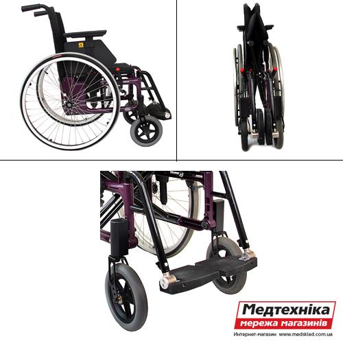 Активная инвалидная коляска Etac Twin, OSD medsklad.com.ua