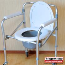 Стул-туалет для инвалидов medsklad.com.ua