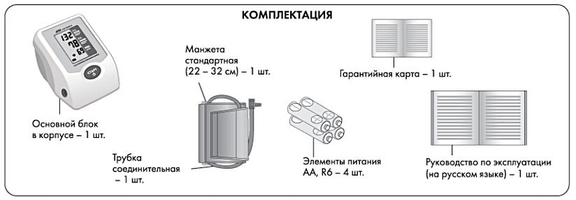 Автоматический тонометр AND UA-668